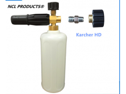 Auto Snow Foam 1L & High Pressure Spray Lance & Foam Dispenser fits karcher HD