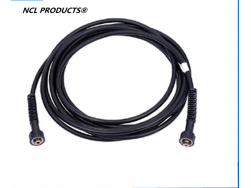 High Pressure PVC Hose Kit in black color