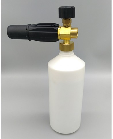 1L Foam Lance Cannon w 14'' Quick Connect Adapter For  Pressure Washer-torq foam cannon